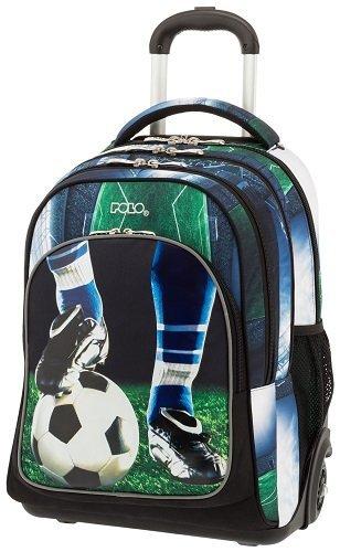 cec6fcab92 Σχολική τσάντα Trolley Δημοτικού Polo Glow Football 9-01-251-70 ...