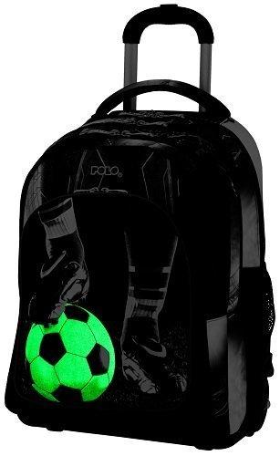 fc6285d39a Σχολική τσάντα Trolley Δημοτικού Polo Glow Football 9-01-251-70 ...