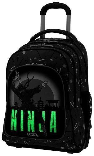 e62f931113 Σχολική τσάντα Trolley Δημοτικού Polo Glow Ninja 9-01-251-71 (2019 ...