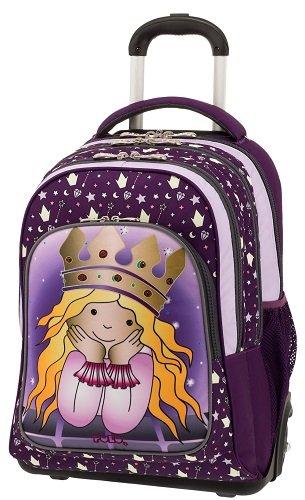 966e128290 Σχολική τσάντα Trolley Δημοτικού Polo Glow Princess 9-01-251-72 ...